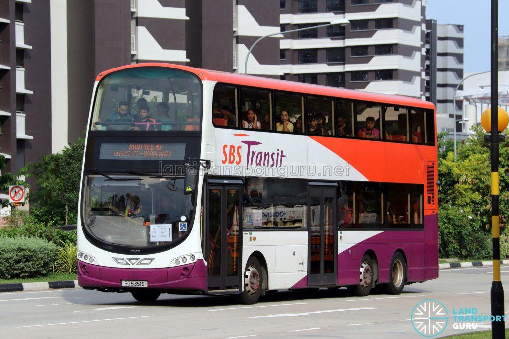 Shuttle 10 - SBS Transit Volvo B9TL Wright (SG5351S)