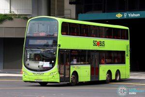 Shuttle 10 - SBS Transit Volvo B9TL (SG5445E)