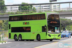 Shuttle 10 - SMRT Buses Alexander Dennis Enviro500 (SG5703K)