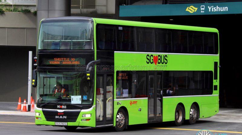 Shuttle 10 - SMRT Buses MAN A95 (SG5782G)