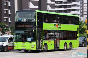 Shuttle 10 - SMRT Buses MAN Lion's City DD A95 (SG5784B)