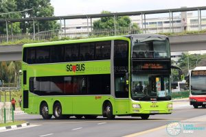 Shuttle 10 - SMRT Buses MAN Lion's City DD A95 (SG5802H)