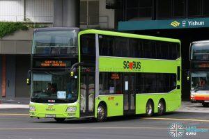 Shuttle 10 - SMRT Buses MAN A95 (SG5814Z)