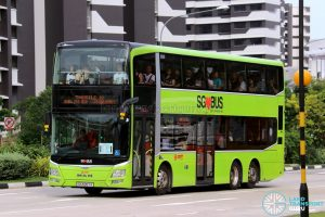Shuttle 10 - SMRT Buses MAN Lion's City DD A95 (SG5857A)