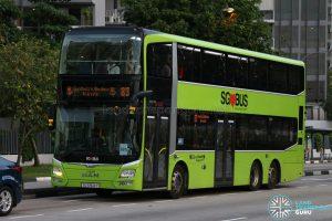 Kindness Day SG - Bus 83 Go-Ahead MAN Lion's City DD A95 (SG5904Y)