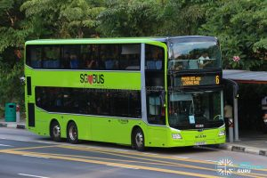 Bus 6: Go-Ahead MAN Lion's City DD A95 (SG6093E)