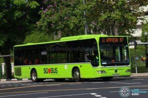 Kindness Day SG - Bus 97 Tower Transit Mercedes-Benz Citaro (SBS6356K)