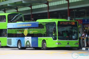 Kindness Day SG - Bus 136 Go-Ahead Mercedes-Benz Citaro (SBS6545G)