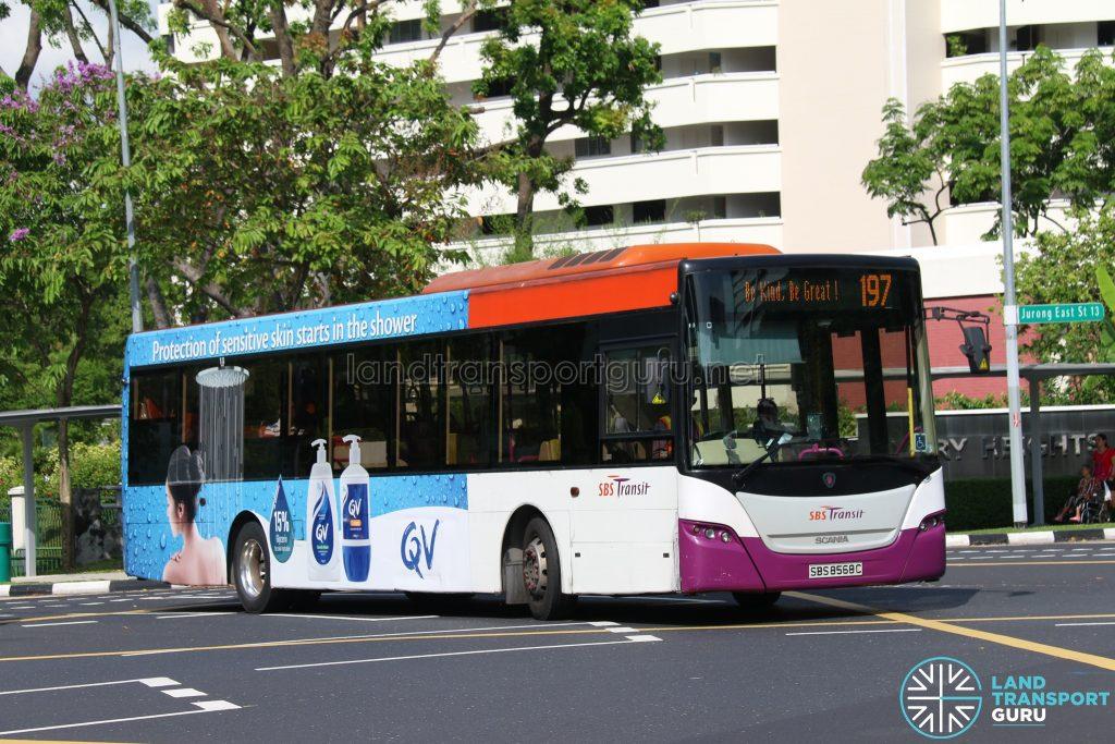 World Kindness Day - Bus 197 SBS Transit Scania K230UB (SBS8565C)
