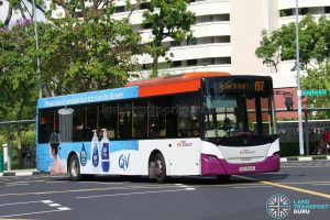 World Kindness Day - Bus 197 SBS Transit Scania K230UB (SBS8565C)