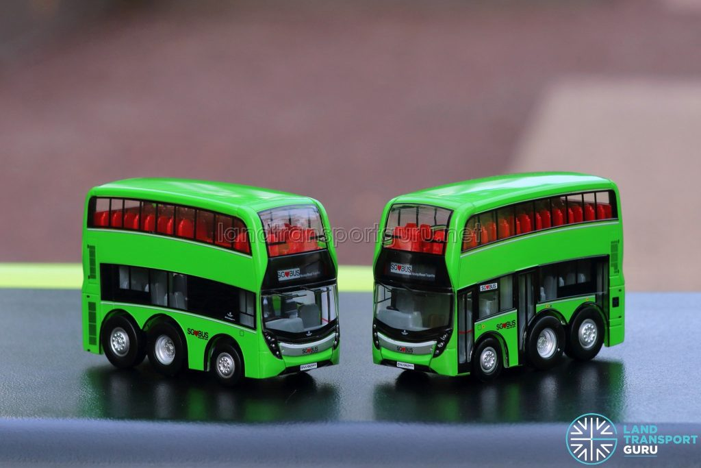 EAP ADL Enviro500 3-Door Concept bus models - Side Profiles