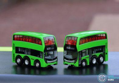 EAP ADL Enviro500 3-Door Concept bus models - Side Profiles