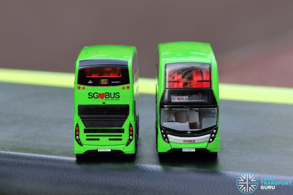 EAP ADL Enviro500 3-Door Concept bus models - Front & Rear