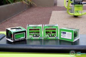 EAP ADL Enviro500 3-Door Concept bus models in original packaging