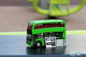 EAP ADL Enviro500 3-Door Concept bus model with customisation stickers provided