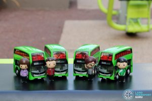 EAP ADL Enviro500 3-Door Concept bus models with Figurines