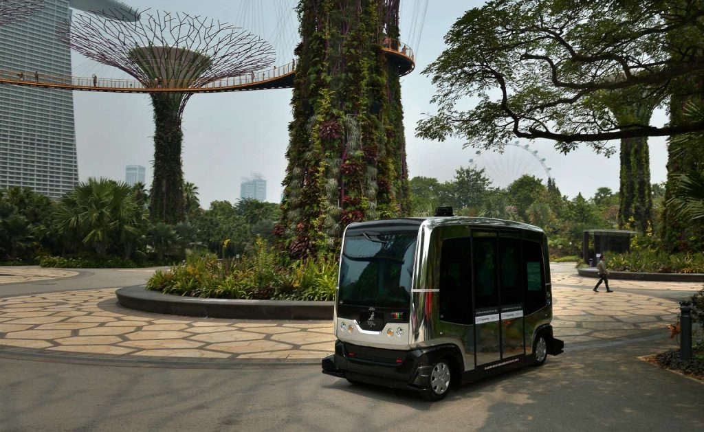 Gardens By The Bay - Auto Rider (EasyMile EZ10)