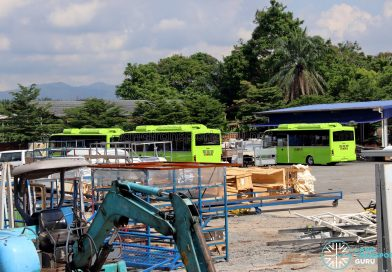 BYD C6 Buses at Gemilang Coachworks