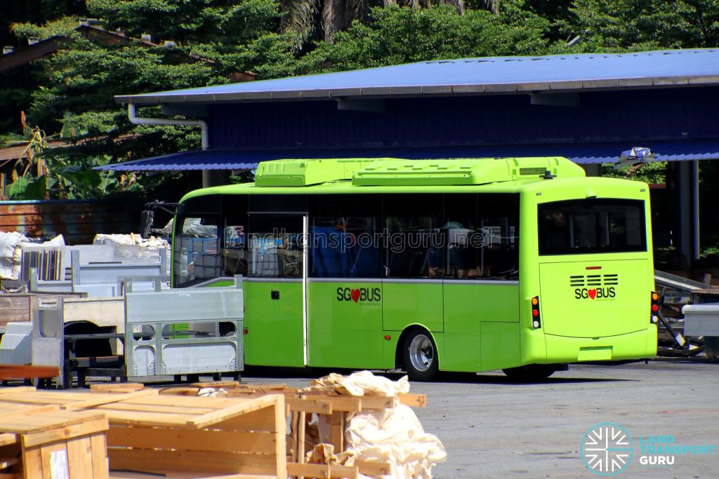 BYD C6 at Gemilang Coachworks