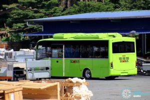BYD C6 at Gemilang Coachworks