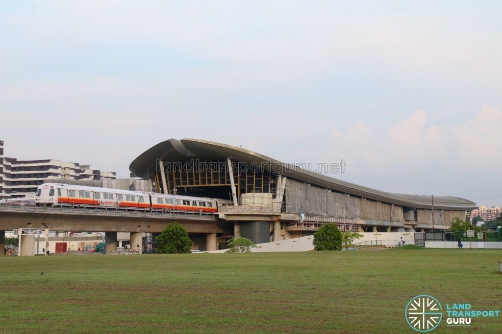 Canberra MRT Station (May 2019)