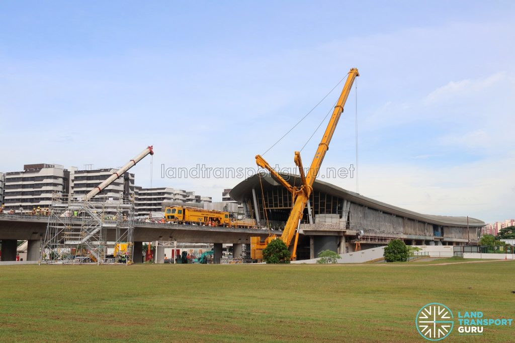 Track Works at Canberra MRT Station (20 May 2019)