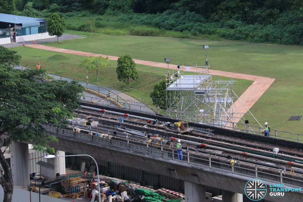 Track Works at Canberra MRT Station (21 May 2019)