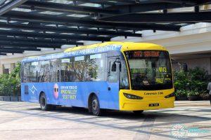 Causeway Link Sksbus SA12-300 (JPA7238) - Route MV2