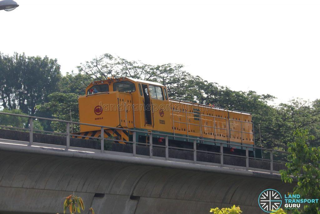 SMRT Deli Diesel Locomotive