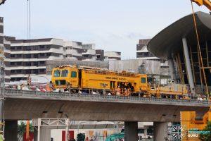 SMRT Plasser & Theurer Track Tamping Vehicle