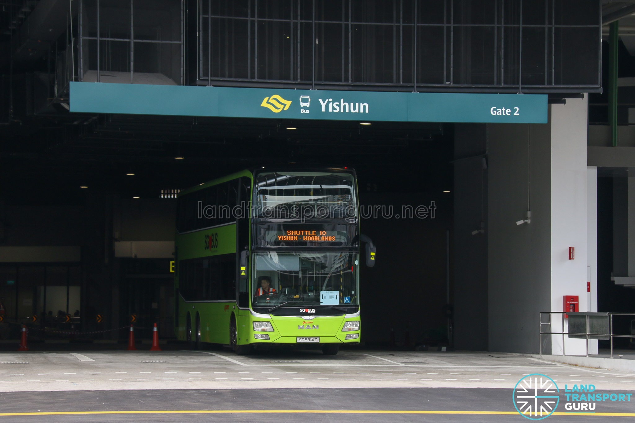 SMRT Feeder Bus Service 901M | Land Transport Guru