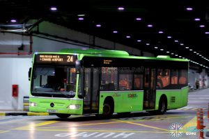 Bus 24 - SBS Transit Mercedes-Benz Citaro (SG1106K)
