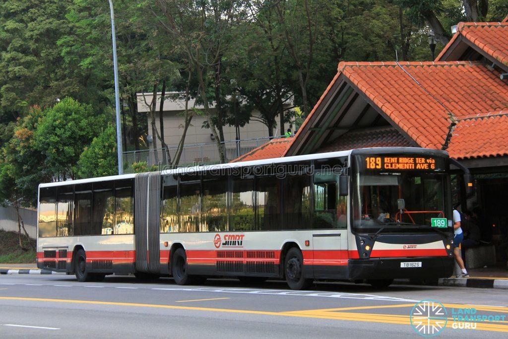 SMRT Mercedes-Benz O405G Habit (TIB1162S) - Service 189