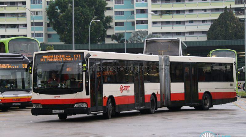 Bus 171 - Mercedes-Benz O405G Volgren (TIB1178Y)