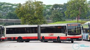 Bus 184 - Mercedes-Benz O405G Volgren (TIB1180P)