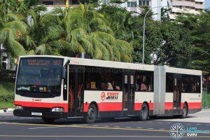 Bus 187 - Mercedes-Benz O405G Volgren (TIB1180P)