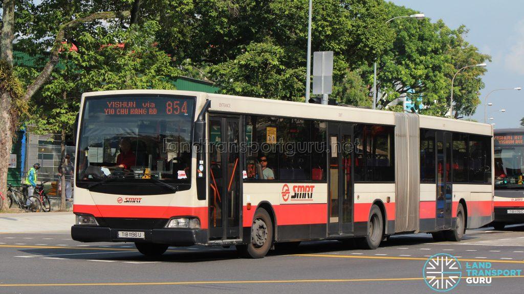 Bus 854 - Mercedes-Benz O405G Volgren (TIB1196U)