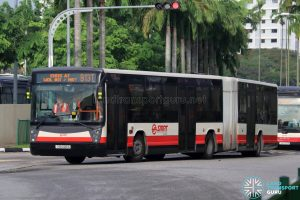 Bus 913T - SMRT Buses Mercedes-Benz O405G (TIB1226S)