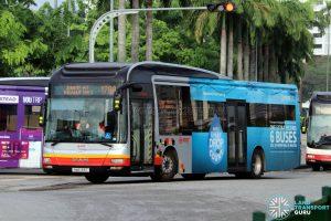 Bus 178A - SMRT Buses MAN A22 (SMB1316T)