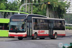Bus 912A - SMRT Buses MAN A22 (SMB1382B)