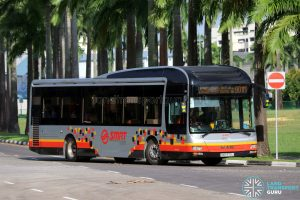 Bus 901M - SMRT Buses MAN A22 (SMB1576J)