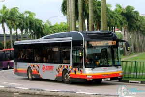 Bus 903M - SMRT Buses MAN A22 (SMB1618Y)