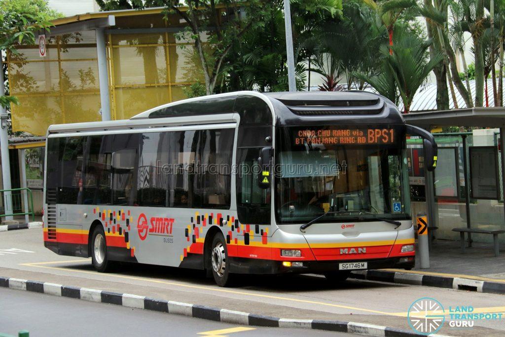 Bus BPS1 - SMRT Buses MAN A22 (SG1746M)