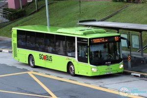 Bus 151 - SBS Transit MAN A22 Euro 6 (SG1759B)