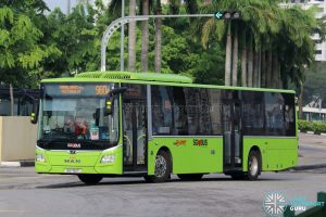 Bus 960e - SMRT Buses MAN A22 Euro 6 (SG1761T)