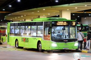 Bus 34 - Go-Ahead Singapore MAN A22 Euro 6 (SG1849A)