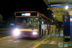 SBS Transit Volvo B10M MkIV DM3500 (SBS2729U) - Express 518