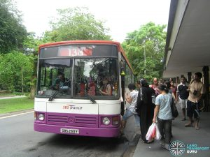 Bus 138 - SBS Transit Mercedes-Benz O405 (SBS293Y)