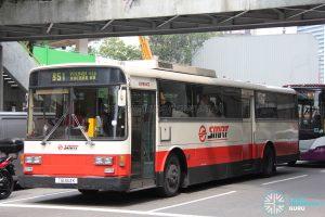 Bus 851 - SMRT Nissan Diesel U31RCN (TIB363K)