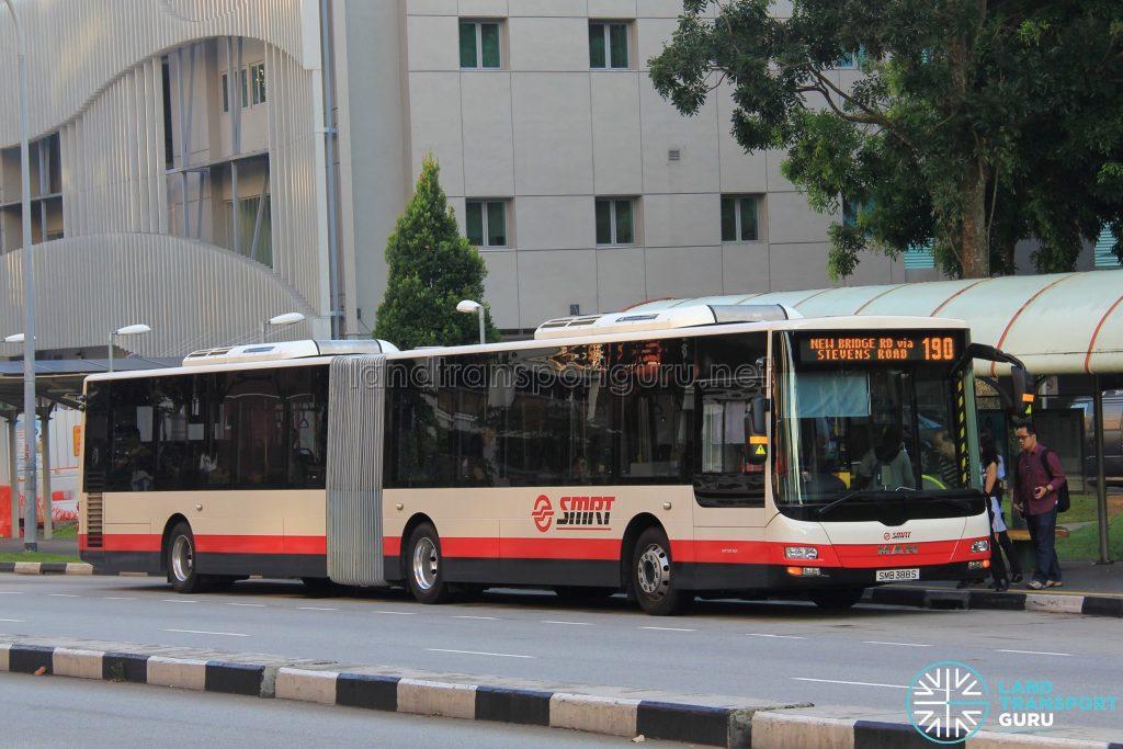 Bus 190 - SMRT MAN NG363F (SMB388S)